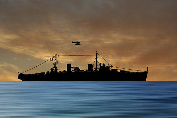 Wall Art - Photograph - Hms Aboukir 1936 V2 by Smart Aviation