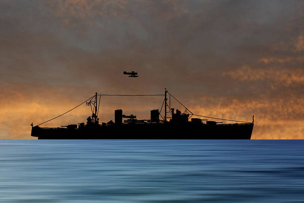 Wall Art - Photograph - Hms Aboukir 1936 V3 by Smart Aviation
