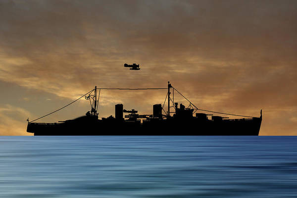 Wall Art - Photograph - Hms Arboukir 1937 V2 by Smart Aviation