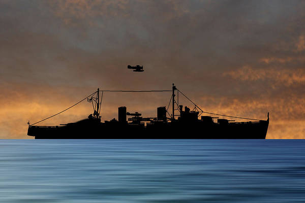 Wall Art - Photograph - Hms Arboukir 1937 V3 by Smart Aviation