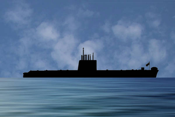 Wall Art - Photograph - Hms Oberon 1976 V1 by Smart Aviation