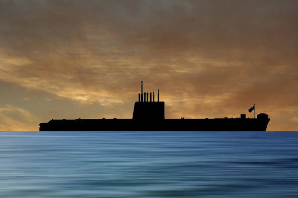 Wall Art - Photograph - Hms Oberon 1976 V2 by Smart Aviation