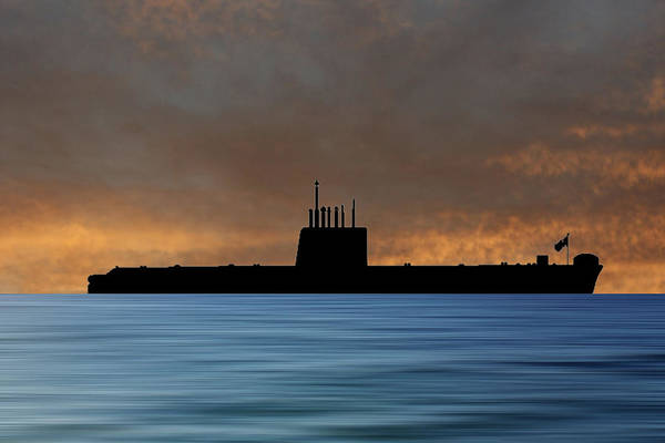 Wall Art - Photograph - Hms Oberon 1976 V3 by Smart Aviation