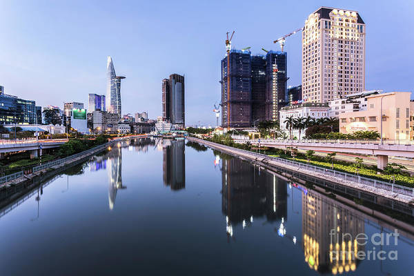 Photograph - Ho Chi Minh City Reflection by Didier Marti