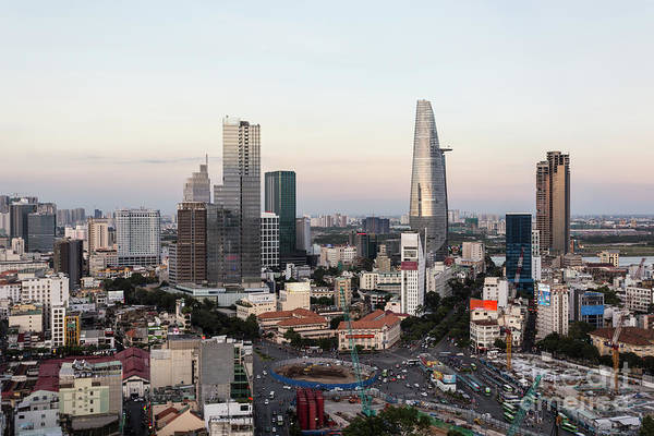 Photograph - Ho Chi Minh City Skyline by Didier Marti