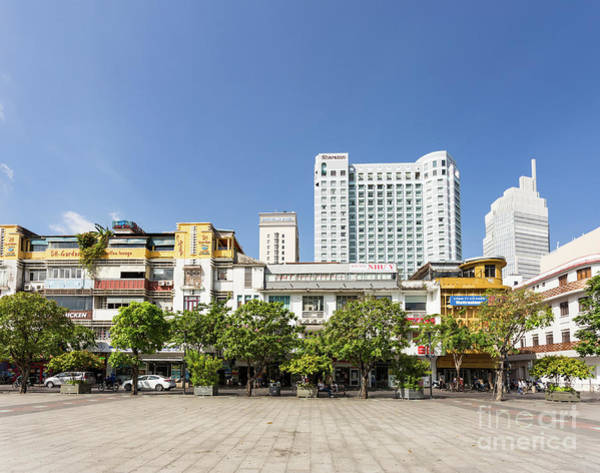 Photograph - Ho Chi Minh Cityscape In Vietnam On A Sunny Day.  by Didier Marti