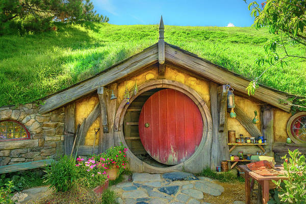 Photograph - Hobbit House by Racheal Christian