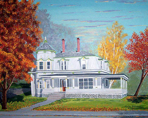 Painting - Hobby House by Stella Sherman