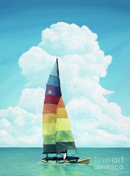 Painting - Hobie Bird by Elisabeth Sullivan
