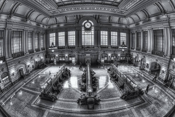 Photograph - Hoboken Terminal Main Waiting Room II by Clarence Holmes