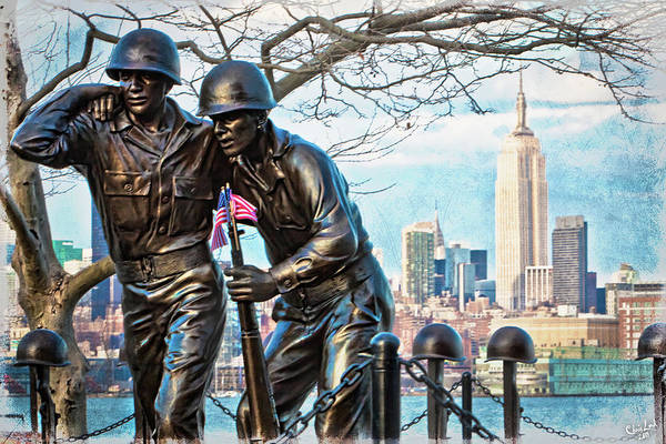 Photograph - Hoboken War Memorial by Chris Lord