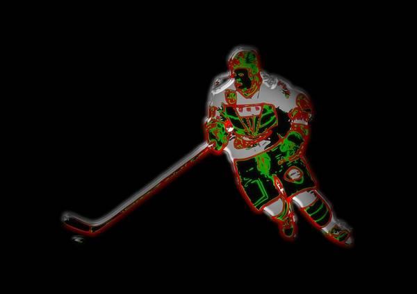 Hockey Player Art Print