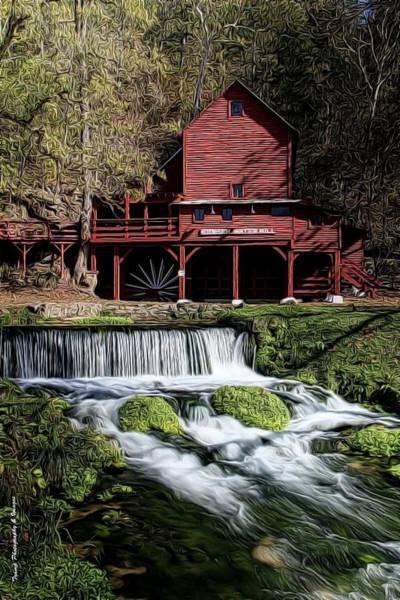 Photograph - Hodgeston Mill by Wesley Nesbitt