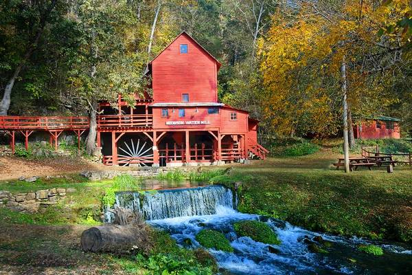 Photograph - Hodgsons Mill  by Marty Koch