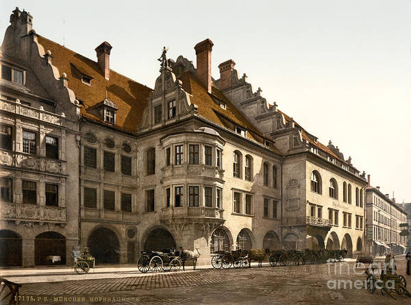 Photograph - Hofbrauhaus Munich by Celestial Images