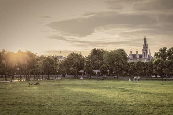 Photograph - Hofburg's Gardens by Roberto Pagani
