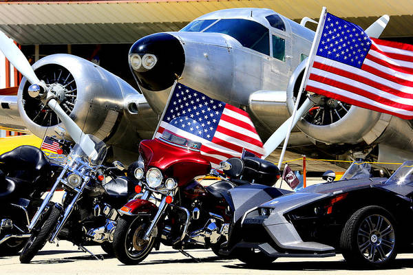 Photograph - Hog Heaven At The Hollister Air Show by John King