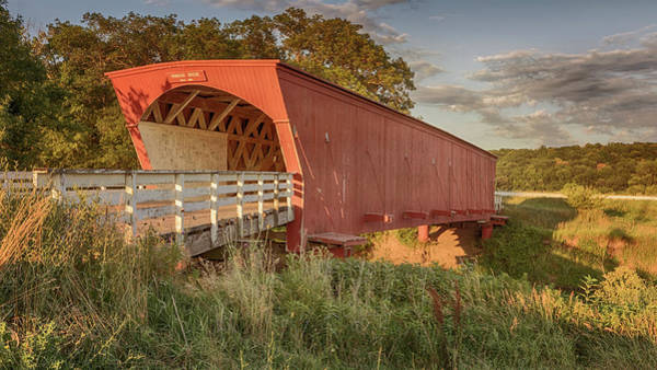 Photograph - Hogback Covered Bridge 3 by Susan Rissi Tregoning