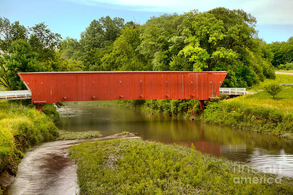 Photograph - Hogback Water Crossing by Adam Jewell