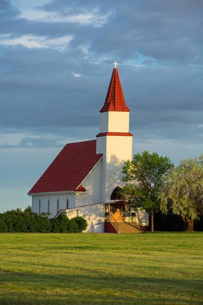 Cross Country Photograph - Hogeland Church by Todd Klassy
