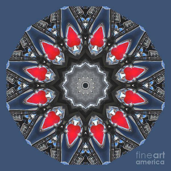 Valkyrie Digital Art - Valkyrie Kaleidoscope 2 by Wendy Wilton