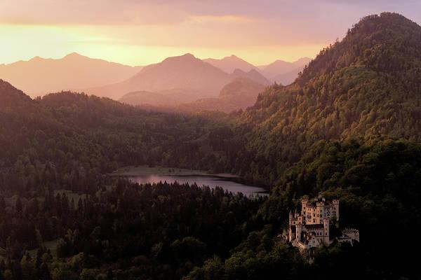 Photograph - Hohenschwangau Castle by Francesco Emanuele Carucci