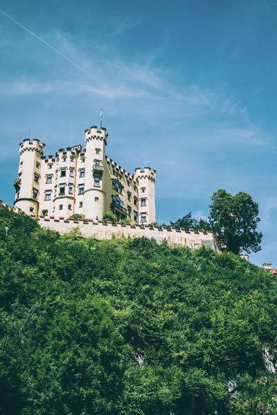 Wall Art - Photograph - Hohenschwangau Castle by Pati Photography
