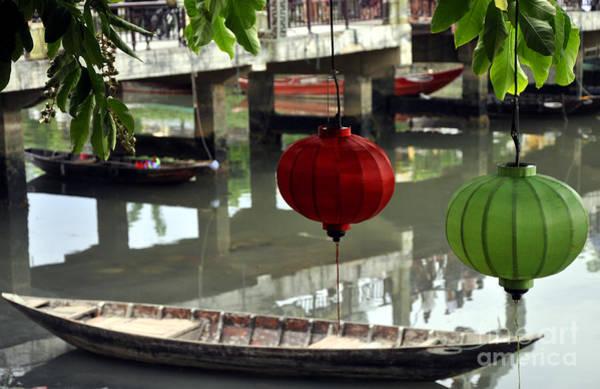 Hoi An Photograph - Hoi An Canoe by Andrew Dinh