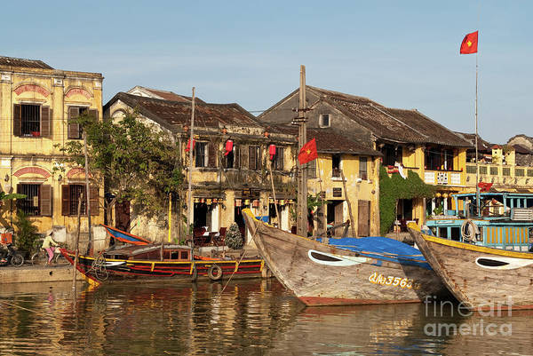 Photograph - Hoi An Fishing Boats 06 by Rick Piper Photography