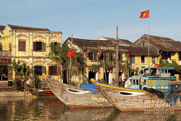 Photograph - Hoi An Fishing Boats 07 by Rick Piper Photography