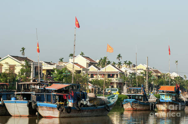 Photograph - Hoi An Fishing Boats 09 by Rick Piper Photography