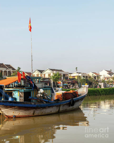 Photograph - Hoi An Fishing Boats 10 by Rick Piper Photography