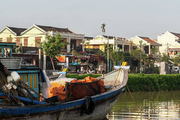 Photograph - Hoi An Fishing Boats 11 by Rick Piper Photography