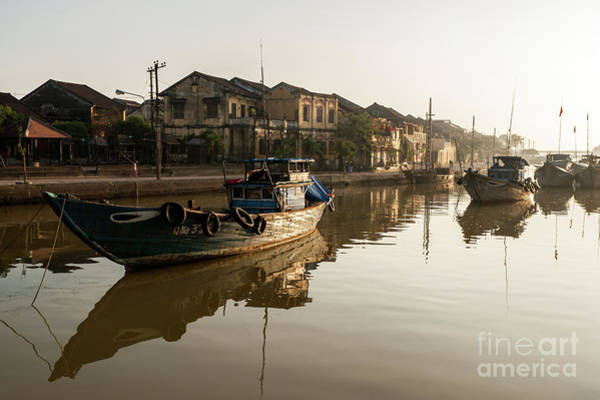 Photograph - Hoi An Fishing Boats 12 by Rick Piper Photography