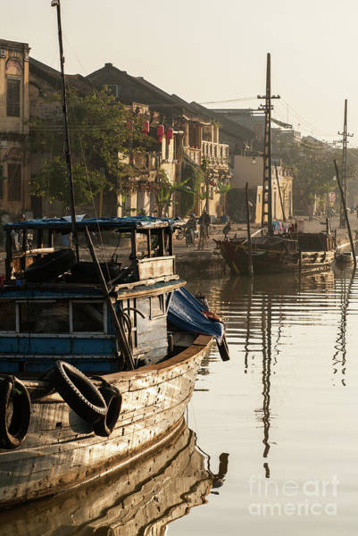 Photograph - Hoi An Fishing Boats 18 by Rick Piper Photography