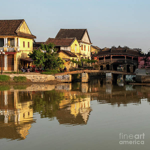 Photograph - Hoi An Reflections 02 by Rick Piper Photography