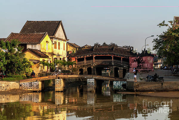 Photograph - Hoi An Reflections 04 by Rick Piper Photography