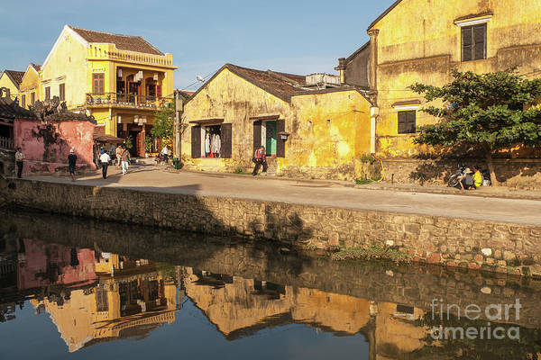 Photograph - Hoi An Reflections 06 by Rick Piper Photography
