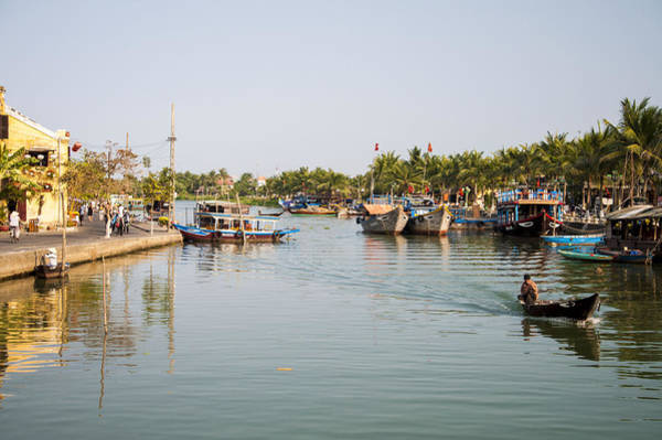 Hoi An River Art Print