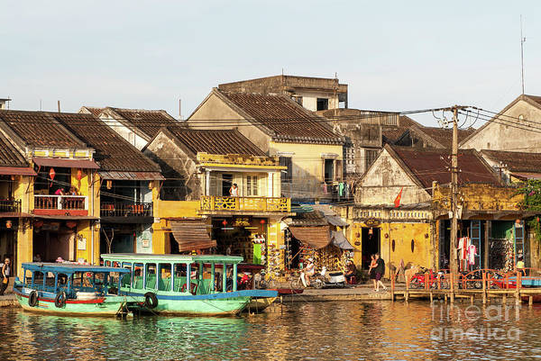 Photograph - Hoi An Riverfront 04 by Rick Piper Photography