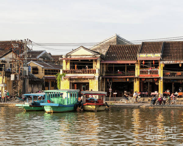 Photograph - Hoi An Riverfront 05 by Rick Piper Photography