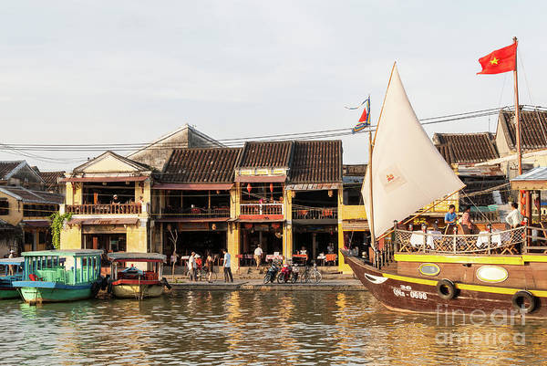 Photograph - Hoi An Riverfront 06 by Rick Piper Photography
