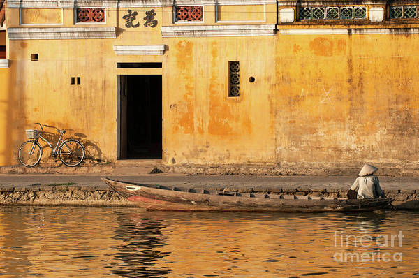 Photograph - Hoi An Tan Ky Wall 12 by Rick Piper Photography