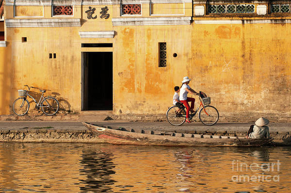 Photograph - Hoi An Tan Ky Wall 16 by Rick Piper Photography