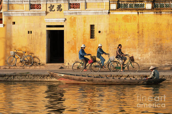 Photograph - Hoi An Tan Ky Wall 17 by Rick Piper Photography