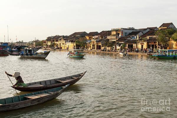 Photograph - Hoi An Thu Bon River 01 by Rick Piper Photography