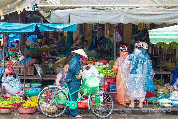 Quang Nam Province Photograph - Hoi An Vietnam Market Day by Martin Berry
