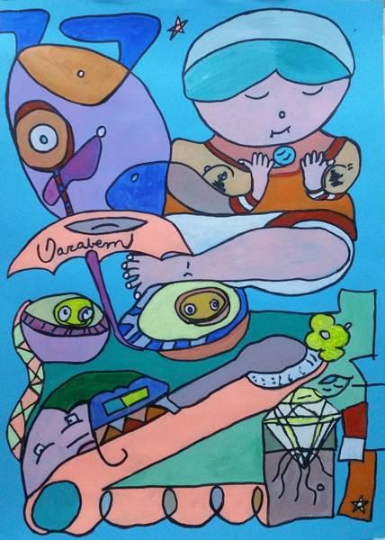 Painting - Hoje by Darabem Artist