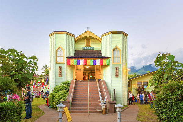 Photograph - Hokoji Lahaina Shingon Mission by Jim Thompson