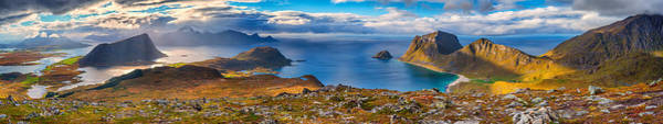 Photograph - Holandsmelen Panorama by James Billings